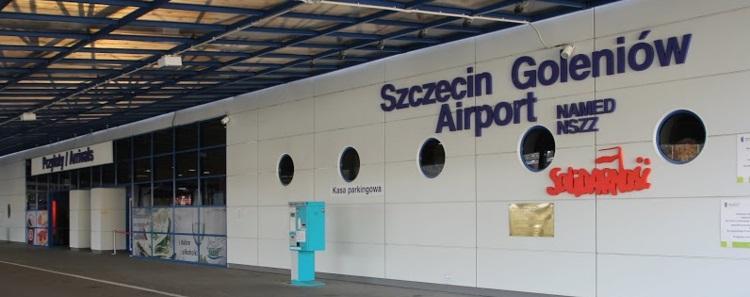 Goleniow airport shutle to szczecin
