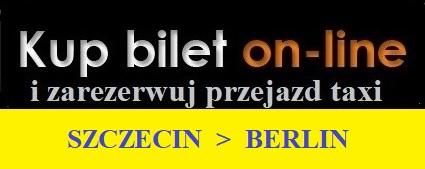 Zarezerwuj i opłać przejazd z Berlina z lotniska do Szczecina
